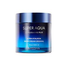 [Missha] Super Aqua 10 Ácido Hialurónico Crema Bálsamo hyalron Ultra - 70ml Original