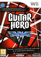 Guitar Hero Van Halen (solus Game) Wii Same Day DISPATCH