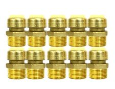 12 Sharkbite Style Push Fit Brass Male Adapter Pack Of 10 Connect Fitting