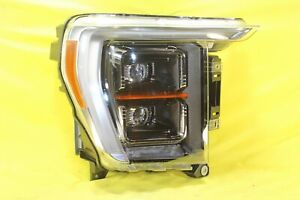 🚝 21 Ford F150 Lariat Platinum Limited Right Passenger Headlight OEM *HOLE / CR