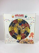 VTG 1994 Holgate Wooden Hickory Dickory Dock Clock Teaching Educational Toy