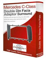 Mercedes C-Class stereo radio Facia Fascia adapter panel plate trim CD surround