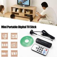 USB 2.0 DVB-T DAB FM Display Dongle TV Receiver Stick RTL2832U+R820T TV Tuner