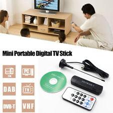 USB 2.0 DVB-T DAB FM Display Dongle TV Receiver Stick RTL2832U+R820T TV Tuner Ht
