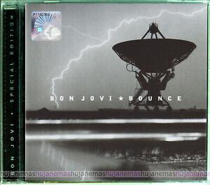 BON JOVI Bounce MALAYSIA SPECIAL Edition CD + TOUR ACCESS CARD RARE NEW