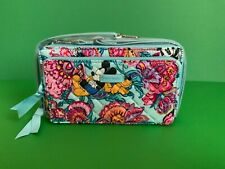 Nwt Vera Bradley Mickeys Colorful Garden Deluxe Rfid All Together Crossbody