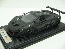 1/18 scale Tecnomodel McLaren P1 GTR Carbon Black Track Test 2015 - T18-EX03C
