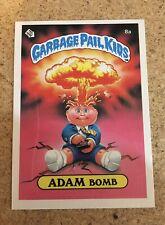 Garbage Pail Kids Original Adam Bomb 1985