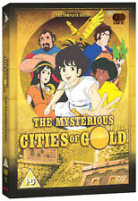 DVD:THE MYSTERIOUS CITIES OF GOLD- THE COMPLETE SERIES - NEW Region 2 UK