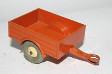 1950's Dinky #27m Orange Trailer with Cream Hubs, Nice Original Lot #2