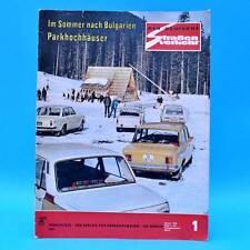 Der Deutsche Straßenverkehr 1/1975 Trabant Star Habicht Shiguli 1300 X-Werte C
