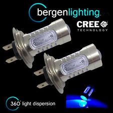 2x H7 Azul LED CREE Delante Bombillas De Luz Larga Alto Voltaje Xenon mb501401