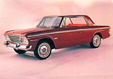 Old Print.  1964 Red Studebaker Daytona Hardtop Auto Ad