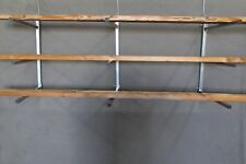 LUMBER STORAGE RACKS 3 PLACE REMOVABLE ARMS HEAVY DUTY 12 FOOT TO 18 FOOT USA