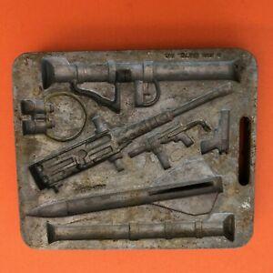 Vintage Bazooka Guns 1960's Thingmaker Mold Only MATTEL
