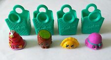 SHOPKINS SEASON 3 (Lot of Four Collectable Figurines) **GENUINE, DISCONTINUED**