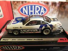 AUTO WORLD ~Allen Johnson MOPAR Pro Stock Car ~ New in Jewel Case ~ FITS AFX, AW