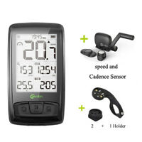 M4 Wireless Bike Speedometer with Speed & Cadence Sensor Waterproof Rechargeable