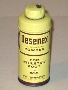 Vintage DESENEX Athletes Foot Powder WTS-Pharmacraft Advertising Tin!