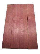 Amarant Pommele Holz Brett Purpleheart 91x15cm 22mm