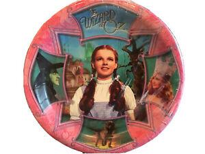 "Vintage 1999 Birthday Wizard Of Oz Party  7"" Dessert Plates NEW"
