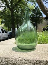 Estate Found Magnificent Late 18th Century American Wistarburgh Glass Bottle
