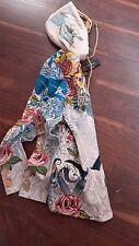 gorgeous Christian Audigier PLATINUM rhinstones hoodie + logo CAT & ROSES S or M