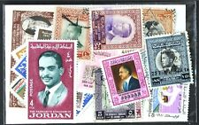 JORDAN, worthwhile small collection 25 different stamps (lot#DP)