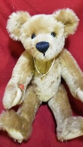 "Carol Pearce artist teddy bear 13"" mohair RoseBeary's"