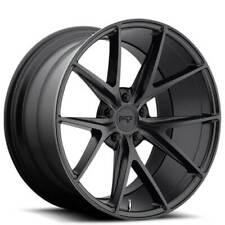 4 19 Niche Wheels M117 Misano Matte Black Rimsb42 Fits 2012 Jeep Grand Cherokee