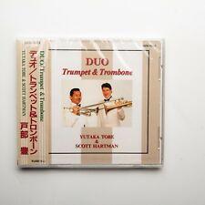 Vintage Yutaka Tobe Scott Hartman Duo Trumpet & Trombone CD Sealed