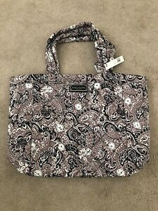 Marc Jacobs Quilted Paisley Tote Bag Gray Multi NWT $190