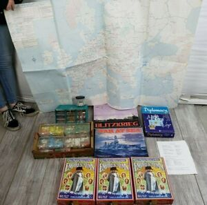 Lot of 4 Avalon Hill Empires in Arms Game of Napoleonic Diplomacy and Warfare...