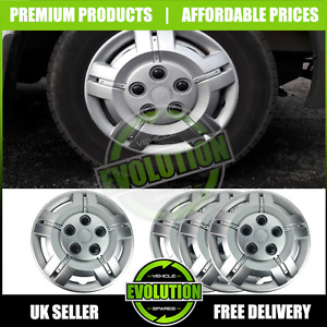 """16"""" TO FIT IVECO DAILY WHEEL TRIMS DEEP DISH HUB CAP DOMED COMMERCIAL 2006-2019"""