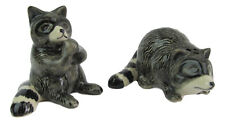 Raccoon Ceramic Salt & Pepper Shakers