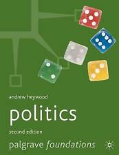 POLITICS., Heywood, Andrew., Used; Good Book