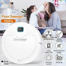 Smart Vacuum Cleaner Sweeper 1600Pa Automatic Floor Sweeping Robot Rechargeable