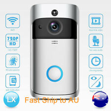 Smart Wireless WiFi Visual Camera Doorbell Remote Phone Video Intercom Security