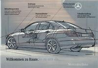 Mercedes E-Klasse Prospekt 2009 W 212 Autoprospekt brochure prospectus Katalog