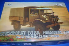 IBG Models 35037 - Chevrolet C15A Personnel Lorry  scala 1/35