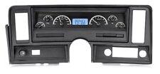 1969-76 Chevrolet Nova Black Alloy & Blue Dakota Digital VHX Analog Gauge Kit