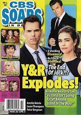 Jason Thompson & Amelia Heinle - April 3, 2017 CBS Soaps In Depth Magazine