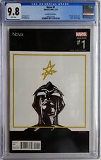 💥 NOVA #1 CGC 9.8 HIP HOP VARIANT 2016 J COLE COVER CANETE LOW CENSUS💥