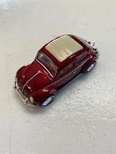 Matchbox '62 Volkswagen Beetle Vw Bug Maroon 50th Anniversary Great Condition!