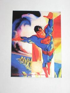 1993 SUPERMAN DC COMICS PROMO CARD! HERO ILLUSTRATED SCRATCH OFF! UNSCRATCHED!
