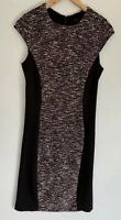 CUE stunning Textured Pencil Midi Dress Size 12