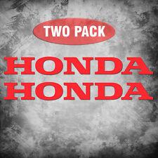 Honda - 2 Pack - Vinyl Decals, Sticker Motorcycle 600RR 1000RR ATV Car JDM Truck