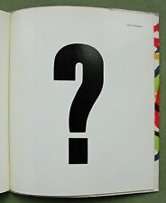 "FLUXUS: Wim T. Schippers, 1965: "" ? "" (print from the block); Karel APPEL litho"