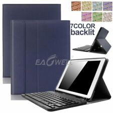 """For iPad Pro 10.5"""" 2017 Bluetooth Keyboard Leather Case Cover WITH Pencil Holder"""