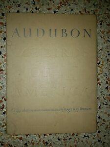 "Lot of 49 Audubon Birds of America Prints 9"" X 12"" Commentaries Roger T Peterson"